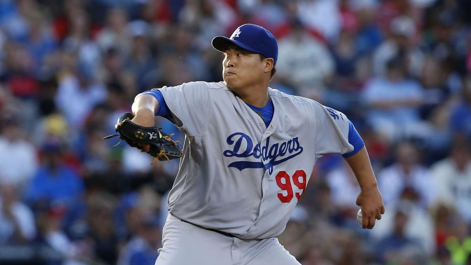 Dodgers pitcher Hyun-Jin Ryu might miss next start with strained glute