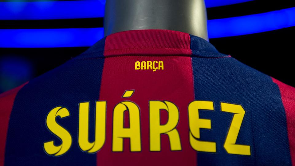 Luis Suarez to train with Barcelona Friday