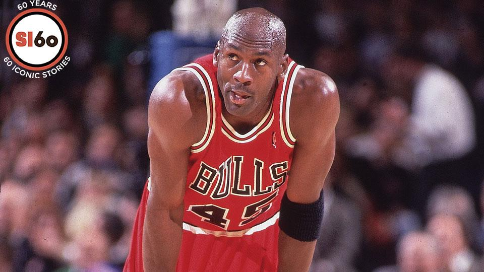 In many ways, Michael Jordan outdid his old self -- and his new jersey number -- in just his fifth game since returning from his first retirement.