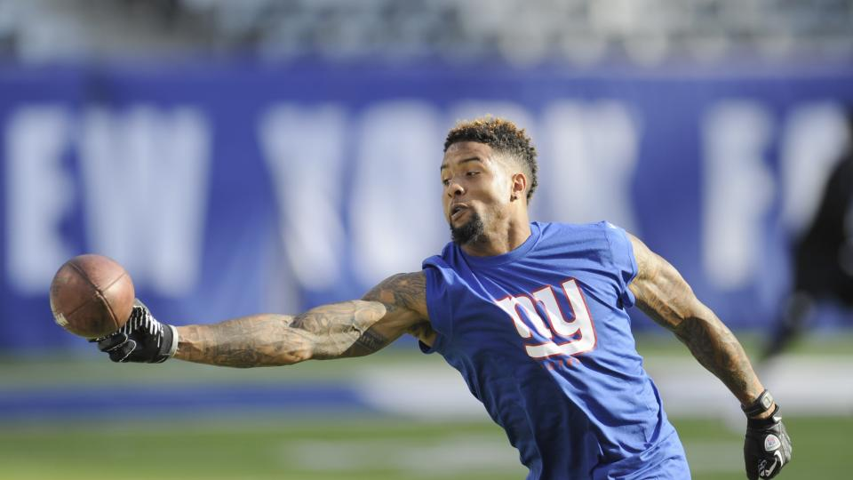 Giants first-round pick Odell Beckham Jr. will not play Saturday