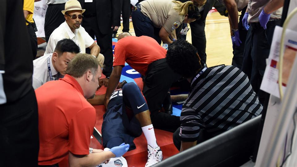 Team USA to wear patch in honor of injured forward Paul George