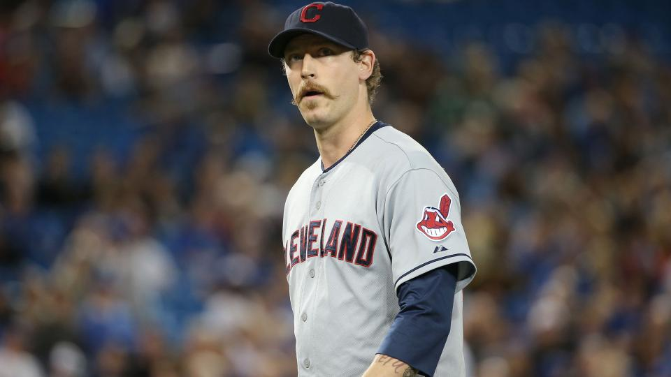 Pirates claim reliever John Axford off waivers from the Indians