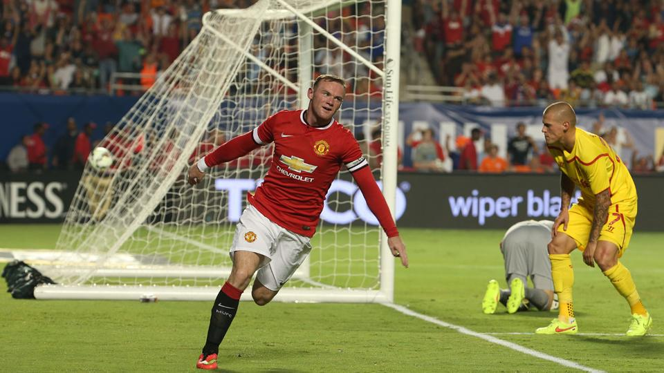 Now Manchester United's captain, Wayne Rooney is out to lead the Red Devils back to the top of the Premier League table.
