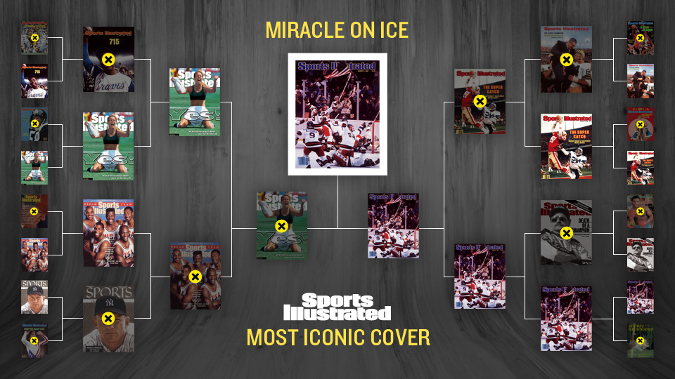 'Miracle on Ice' voted SI's most iconic cover of all time