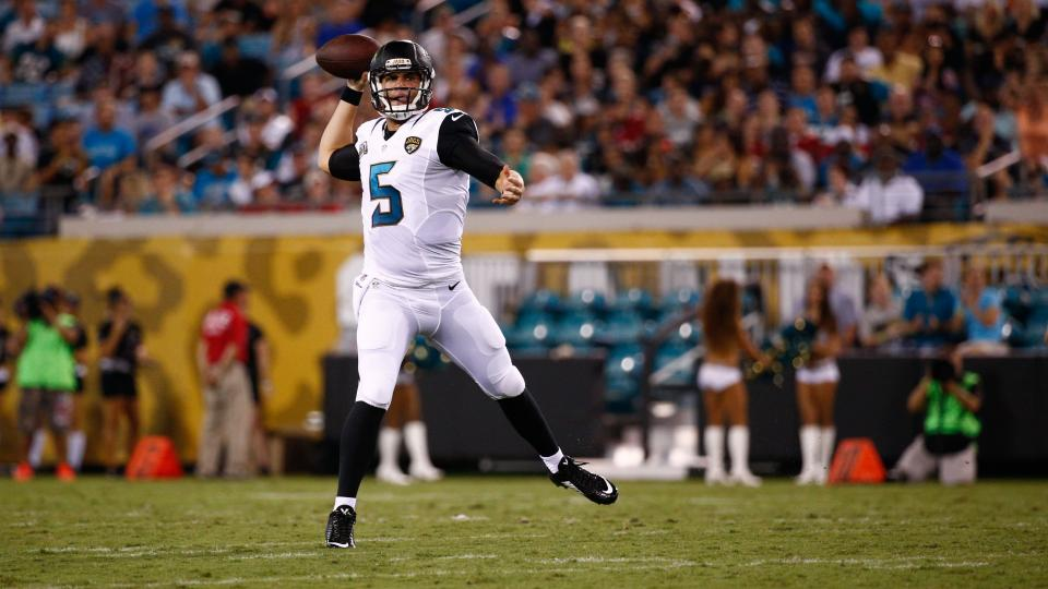 Gus Bradley says Blake Bortles will play with first team against Lions