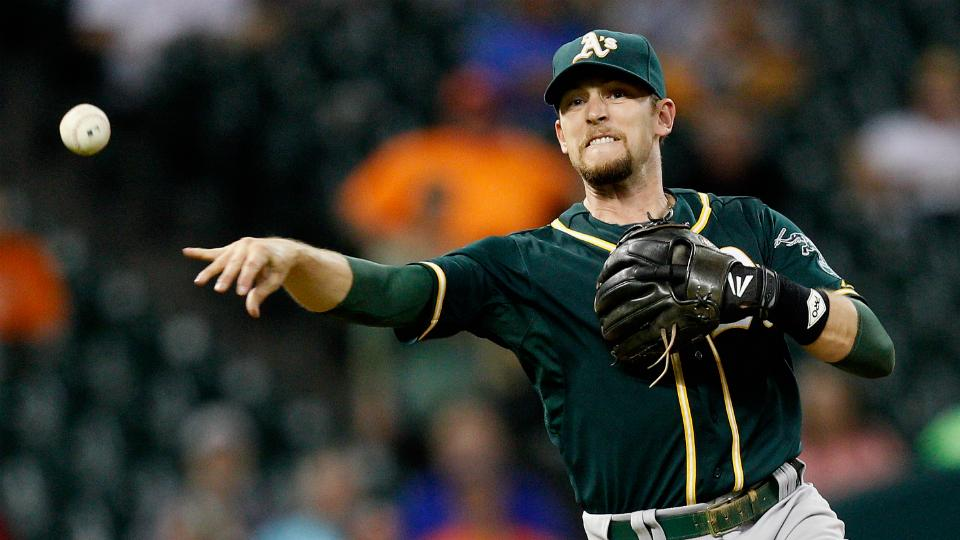 Athletics place shortstop Jed Lowrie on disabled list, recall Andy Parrino