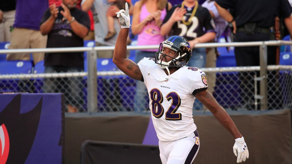 Ravens' Harbaugh: Receiver race will be decided by preseason games