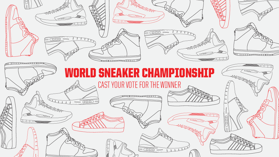 World Sneaker Championship: Vote for the winner