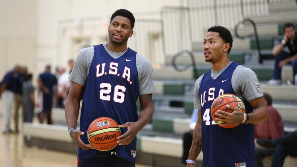 Report: Rose, Curry, Harden, Davis to start Team USA exhibition vs Brazil