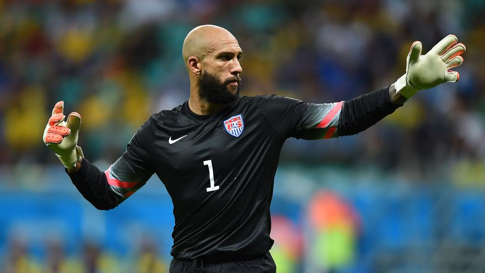 American goalkeeper Tim Howard is publishing a book about his life.