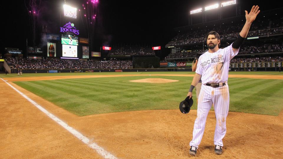 Rockies will use special balls this weekend in honor of Todd Helton