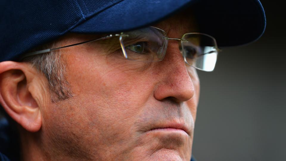 Manager Tony Pulis leaves Crystal Palace ahead of opening match