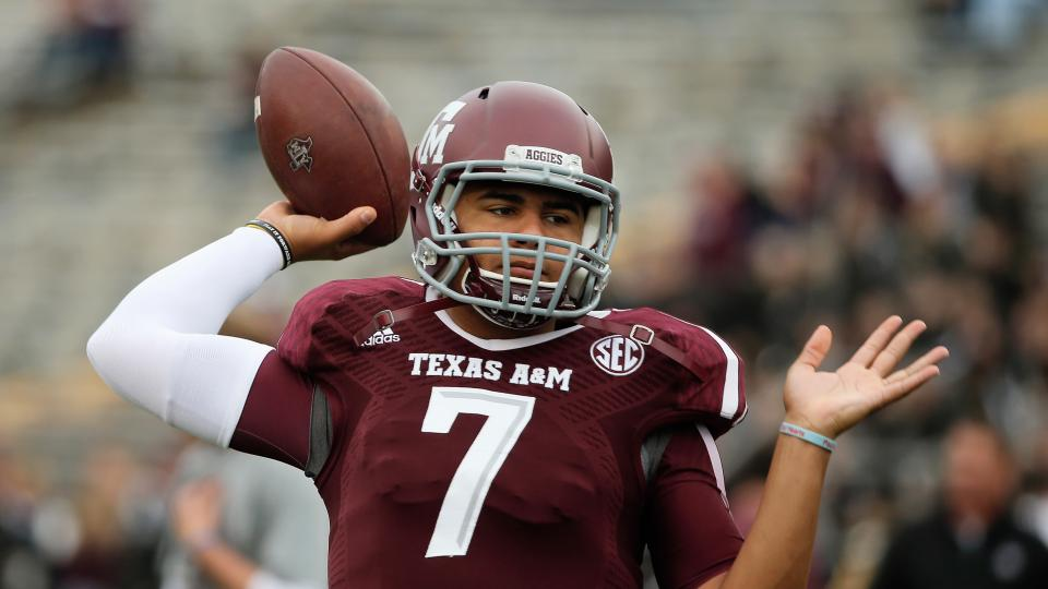 Kenny Hill named starting quarterback for Texas A&M