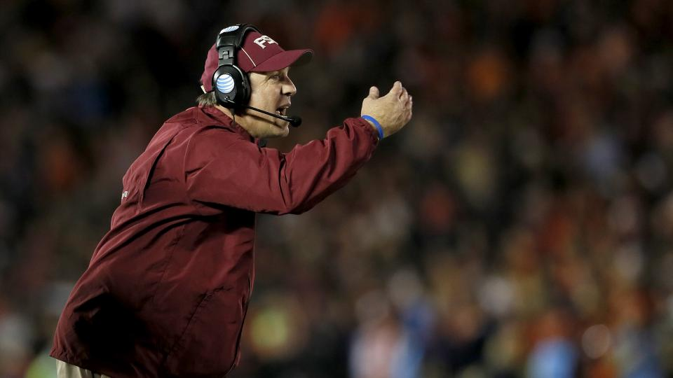 FSU head coach Jimbo Fisher lost his tallest wide receiver on Saturday due to academic ineligibility