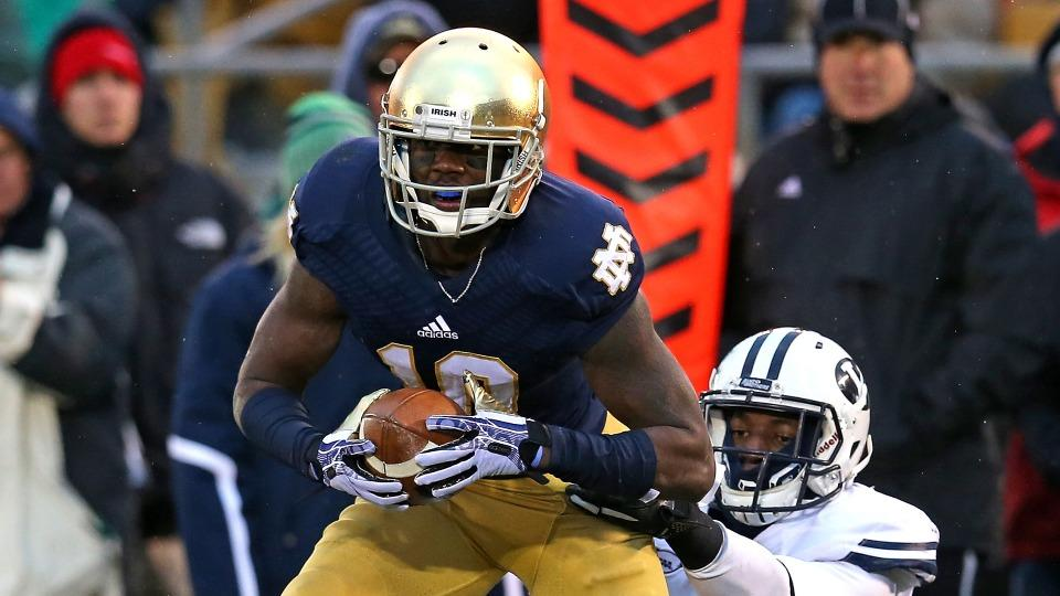 Report: Notre Dame receiver DaVaris Daniels says he wrote his own papers