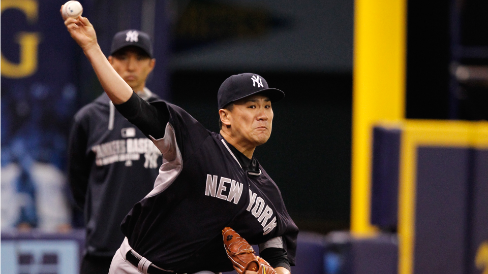 Yankees' Masahiro Tanaka 'fine' after first bullpen session since injury
