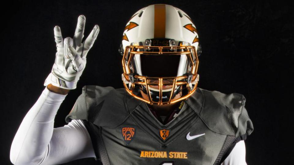 Arizona State reveals new black and copper alternate uniform