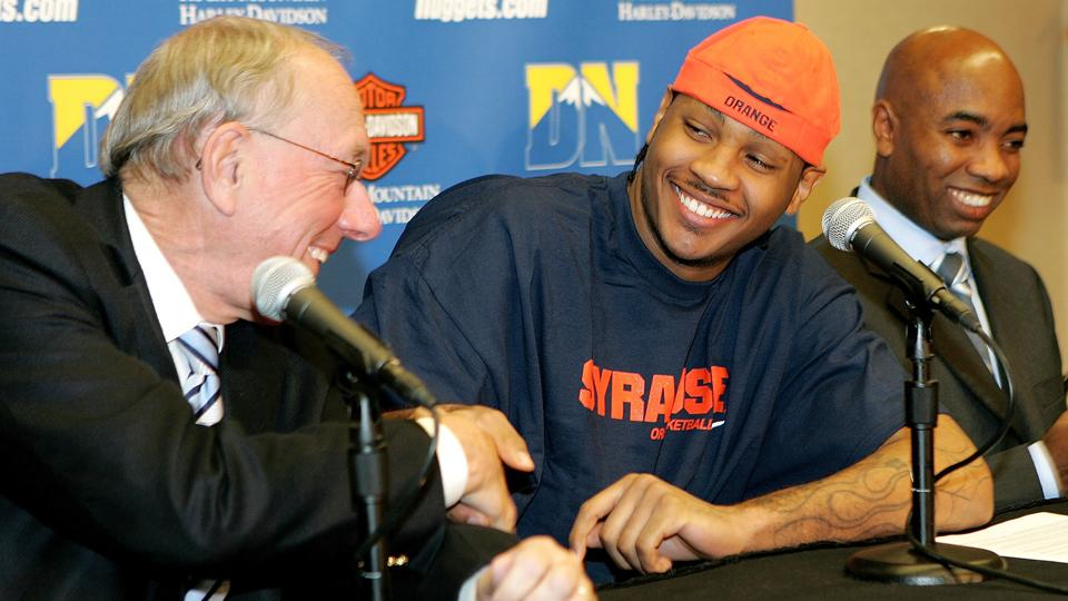 Boeheim: Melo better off with Bulls 'from a basketball point of view'