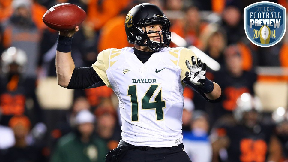 Worth the wait: Bryce Petty's unlikely journey to becoming Baylor's star