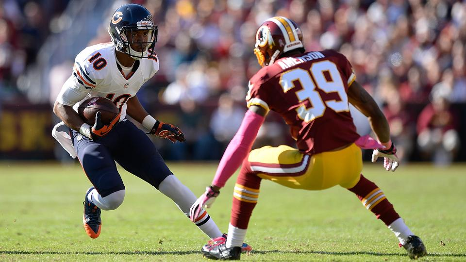 Report: Bears receiver Marquess Wilson could miss half of season