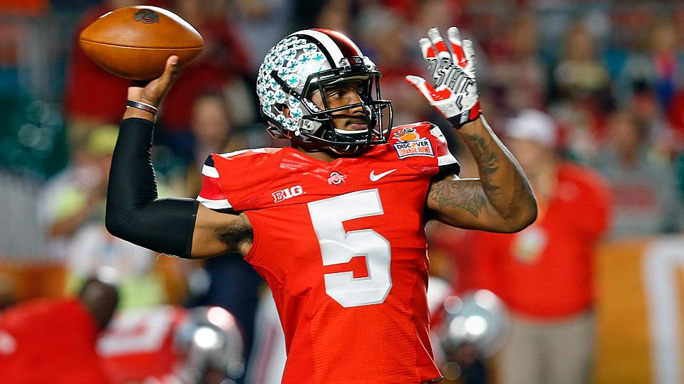 Ohio State QB Braxton Miller out for entire 2014 season with torn labrum