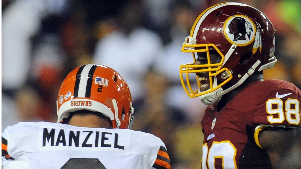 Redskins LB Brian Orakpo: Johnny Manziel's middle finger 'hilarious'