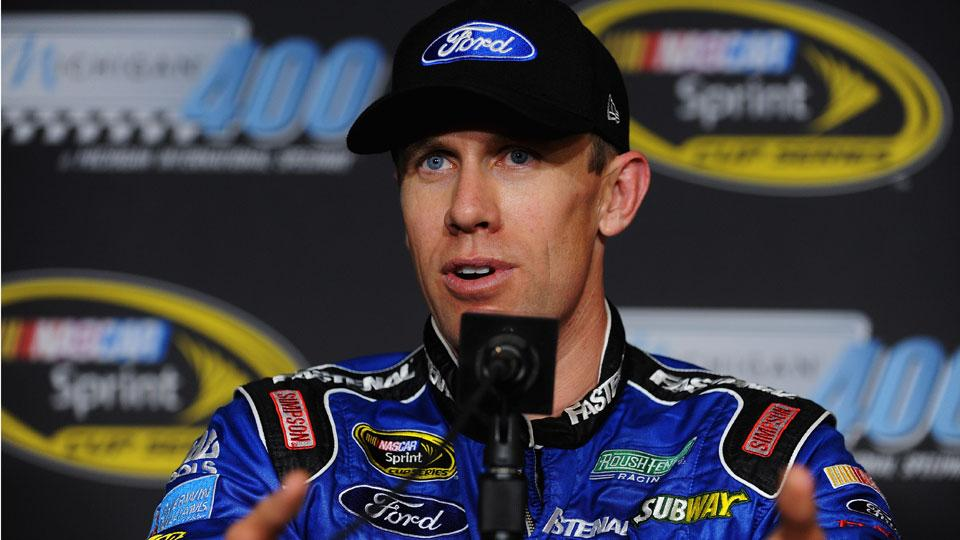 Carl Edwards to drive for Joe Gibbs Racing in 2015