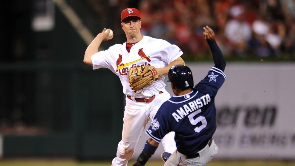 Cardinals put 2B Mark Ellis on disabled list with oblique strain