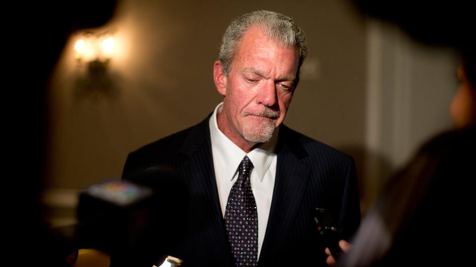 Colts owner Jim Irsay suspended six games, fined $500,000