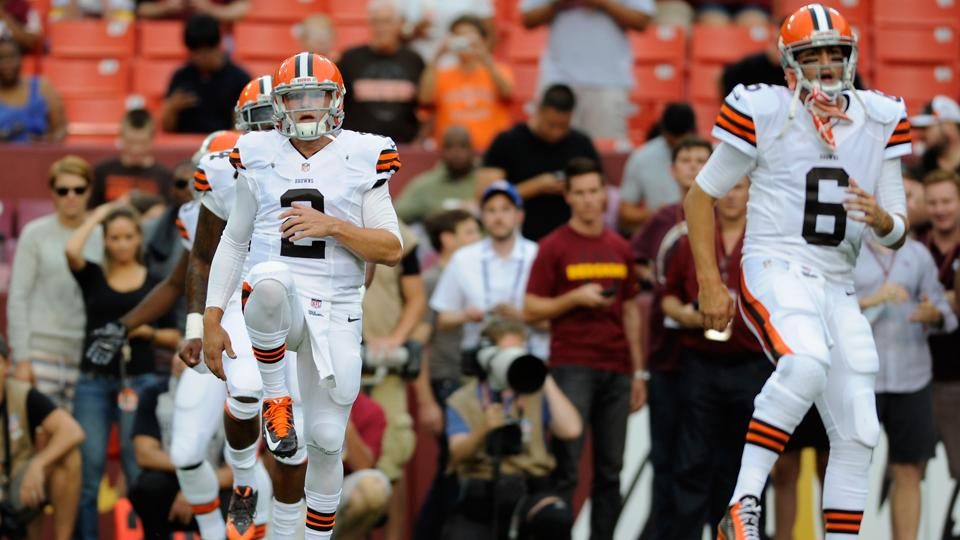 Johnny Manziel or Brian Hoyer: Decision could come Tuesday night