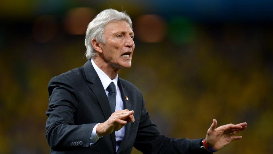Colombia coach Jose Pekerman signs four-year contract extension