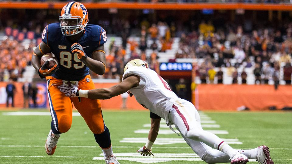 Syracuse tight end Josh Parris out indefinitely with lower-body injury