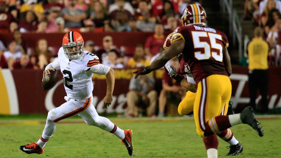 Report: Nearly seven million watch Browns-Redskins 'MNF'