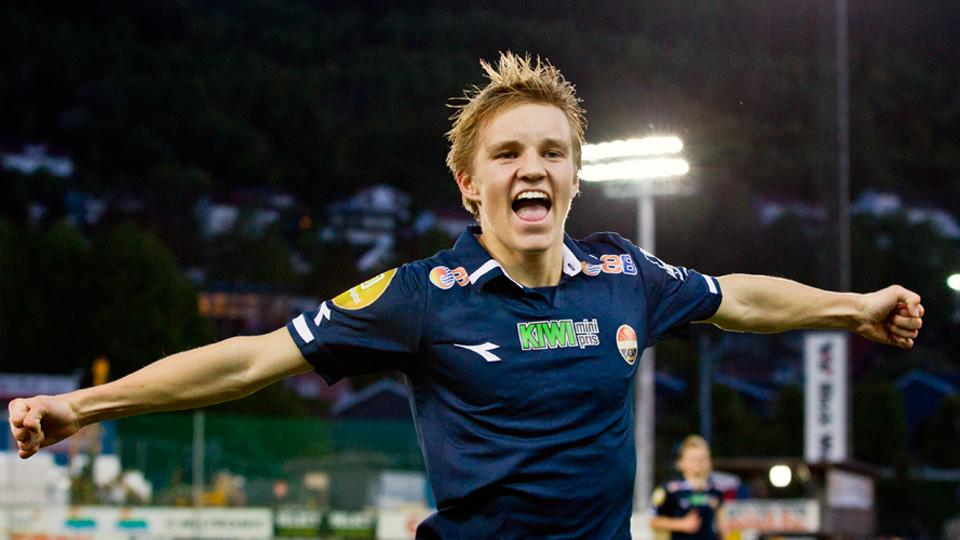 Martin Odegaard, 15, youngest call-up to Norway's national team