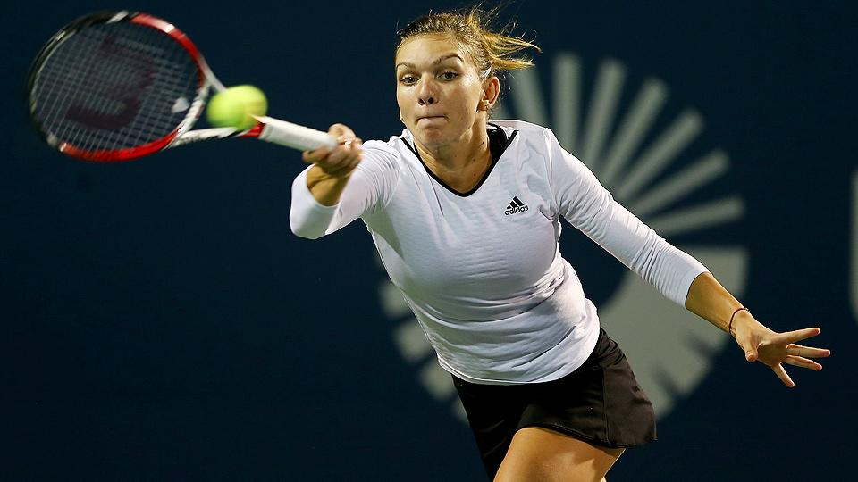Top-seed Simona Halep upset at Connecticut Open