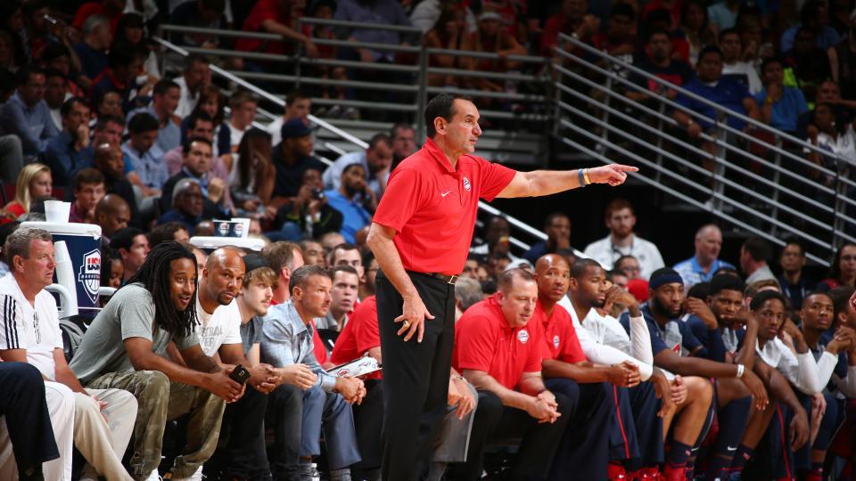 Mike Krzyzewski plans to cut Team USA roster to 12 by Saturday