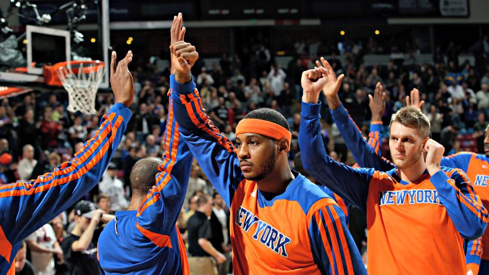Will the Knicks 'absolutely' make the playoffs as Carmelo Anthony claims?