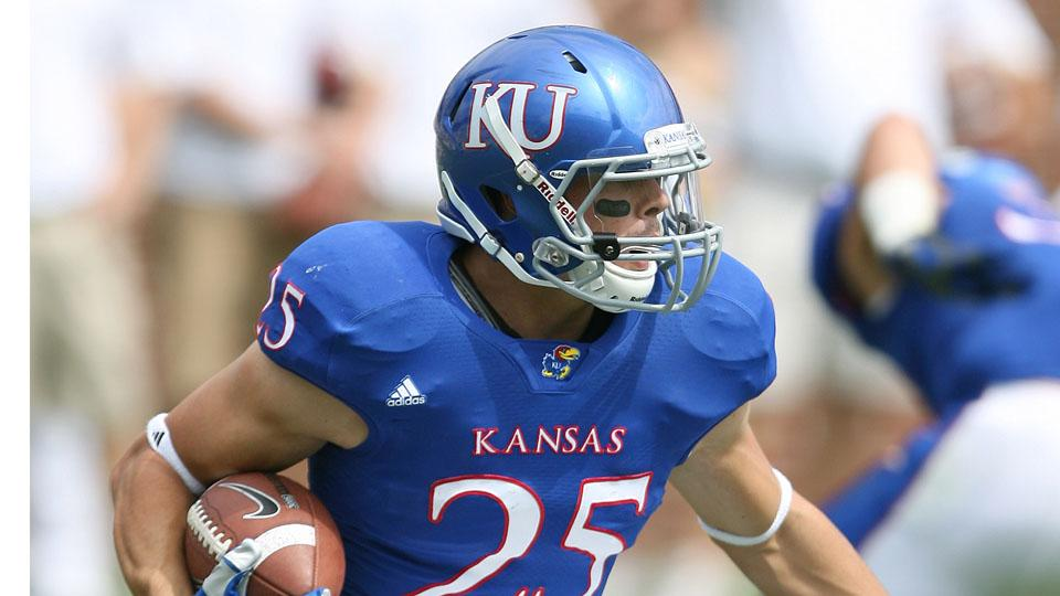 Kansas running back and projected starter Brandon Bourbon will miss the season with a torn ACL