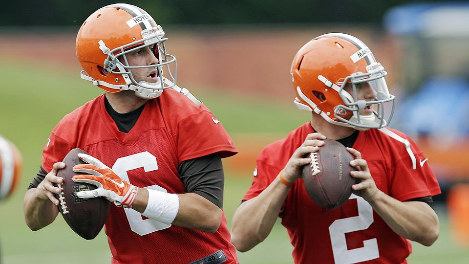 Did Browns make right choice picking Brian Hoyer over Johnny Manziel?