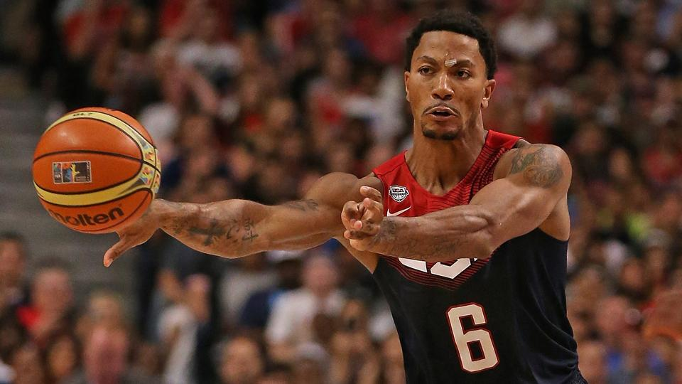 Derrick Rose out for exhibition against Dominican Republic
