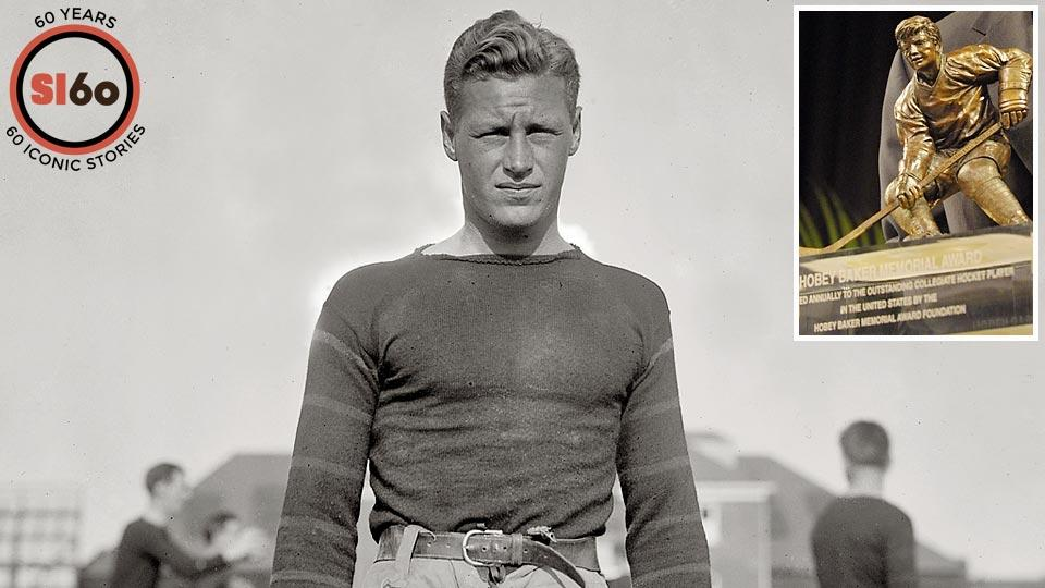 Hobey Baker became a legend on the gridiron and the ice for the Tigers, and college hockey's national player of the year award bears his name.
