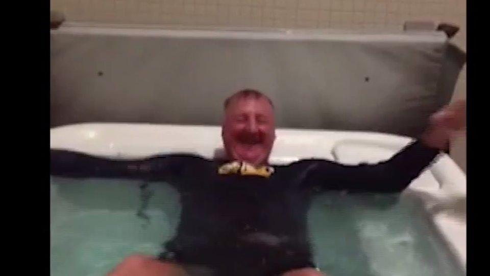 Larry Bird is the latest to take on the Ice Bucket Challenge