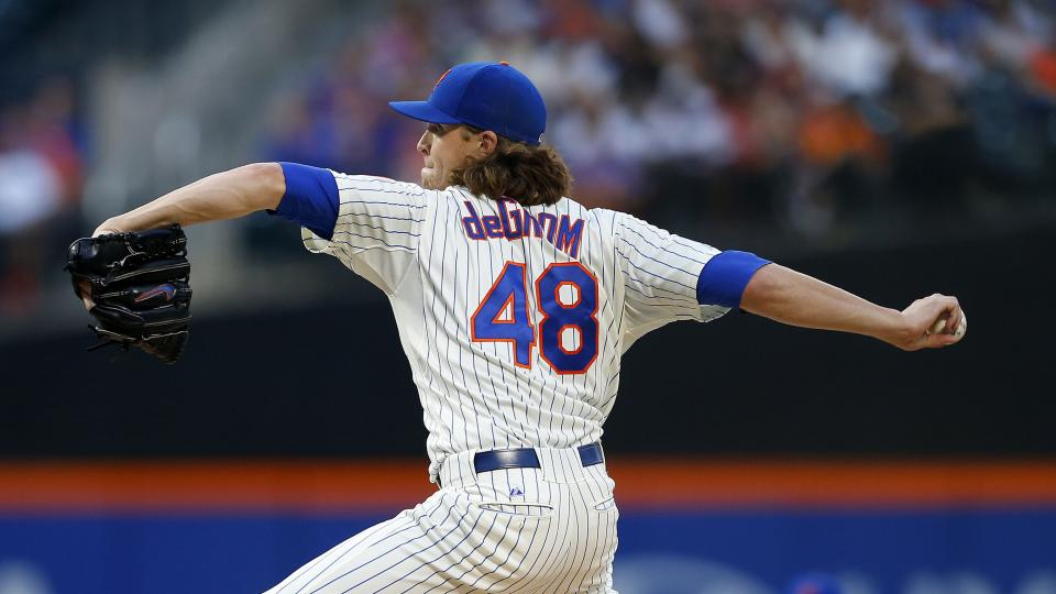 Mets pitcher Jacob deGrom to return Saturday against Dodgers
