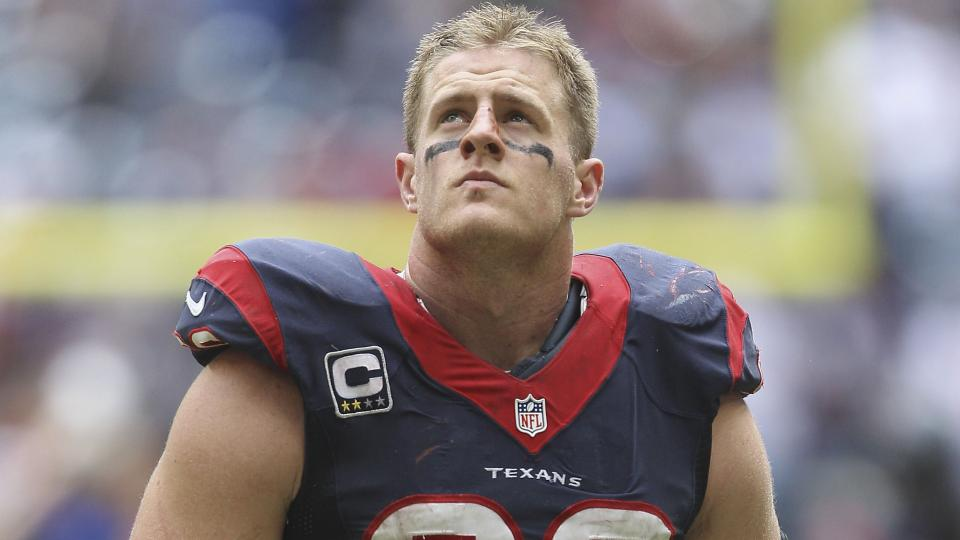 J.J. Watt wants a more lucrative contract with Texans