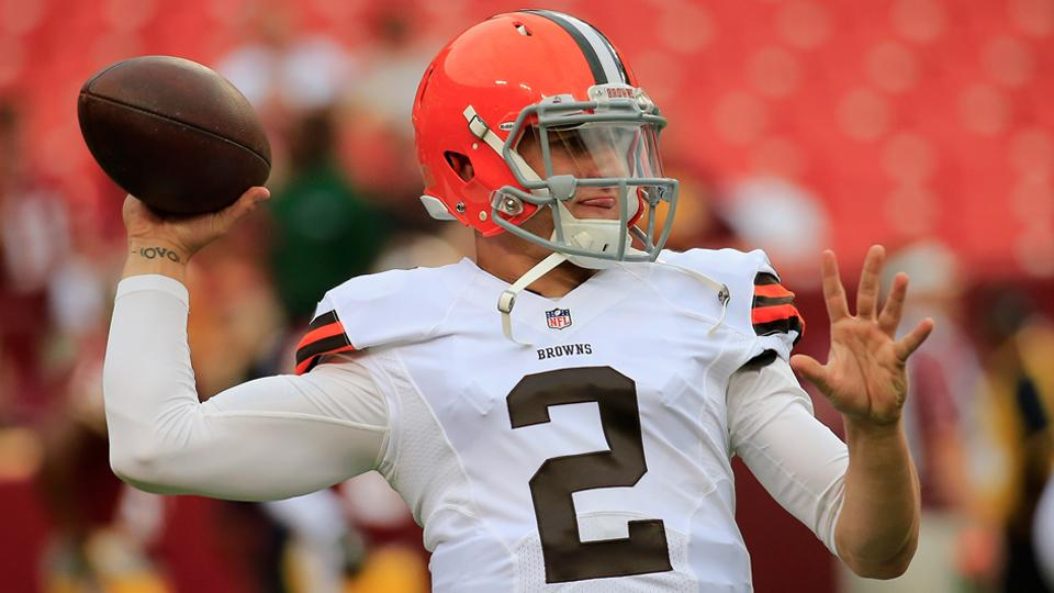 Report: Johnny Manziel struggling to learn Browns' playbook