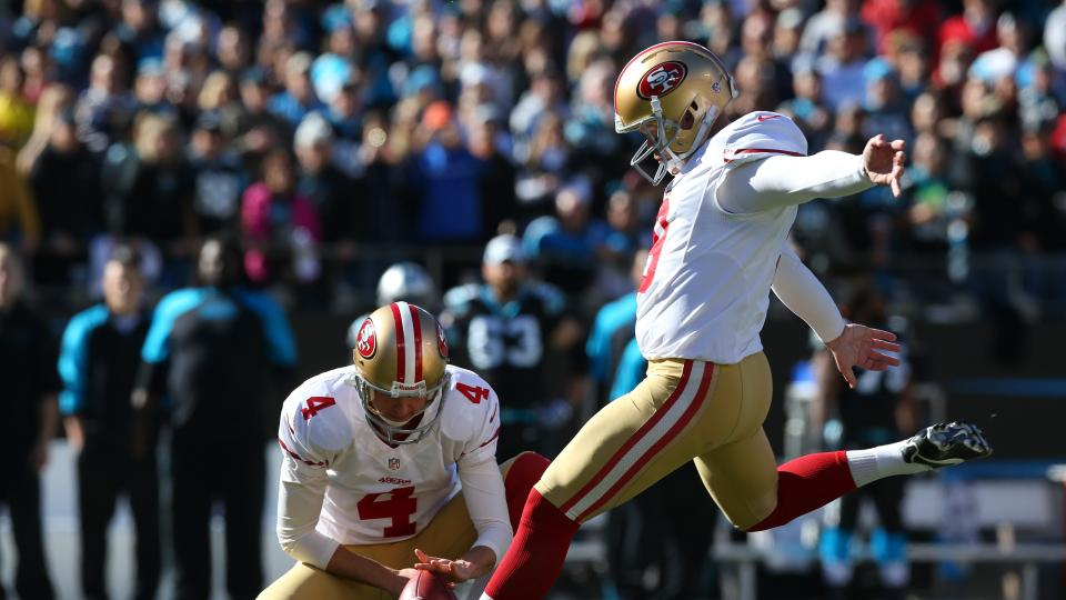 49ers kicker Phil Dawson is still learning about Levi's Stadium winds