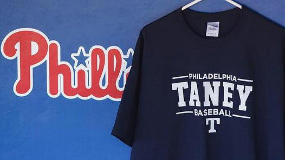 Phillies showing their support for Mo'Ne Davis and the Taney Dragons