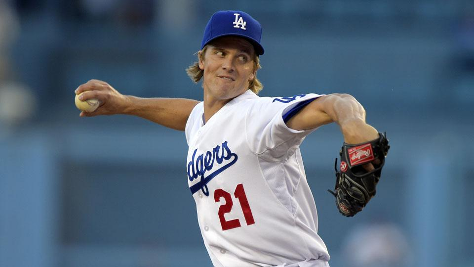 Dodgers pitcher Zack Greinke a 'possibility' for next start