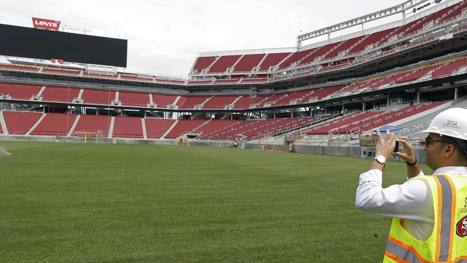 49ers say Levi's Stadium turf to be ready for Sunday's preseason game