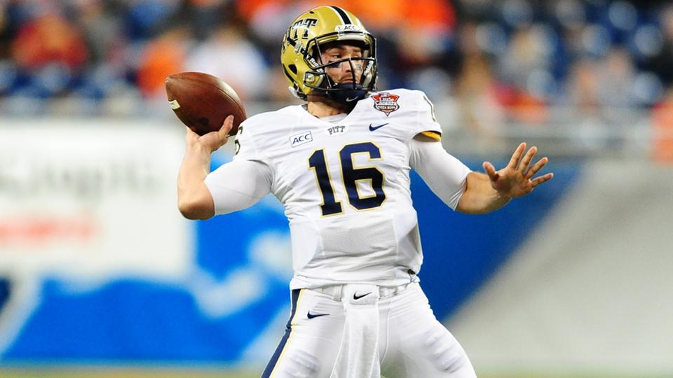Pitt names Chad Voytik starting quarterback